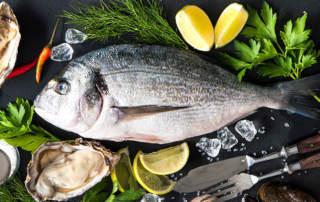 Fisch und Muscheltage Braurestaurant IMLAUER HOTEL PITTER