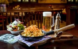 Pfandl Essen Braurestaurant IMLAUER HOTEL PITTER