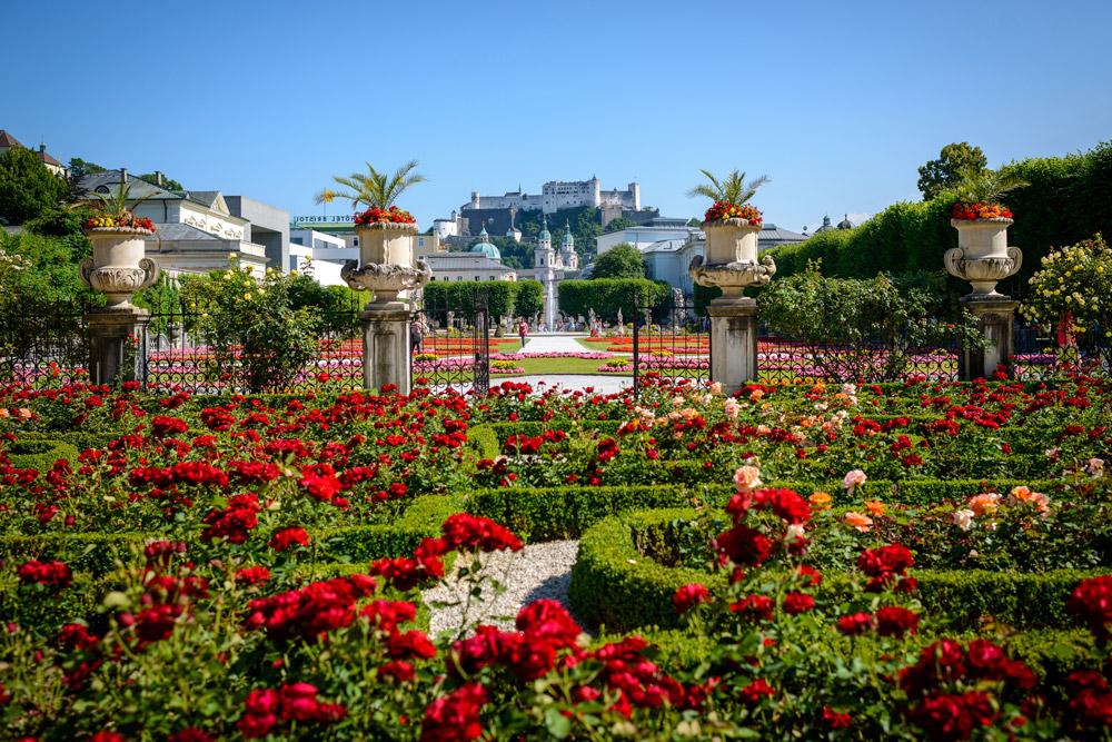 Mirabellgarten IMLAUER HOTEL PITTER Salzburg