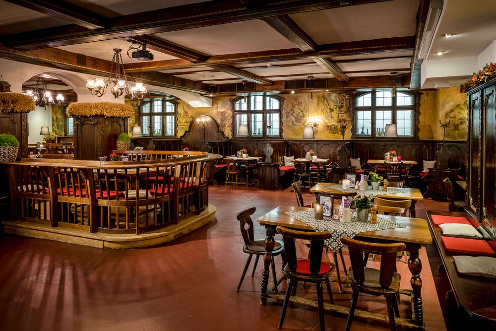 Pitterkeller mit rustikalem Ambiente IMLAUER HOTEL PITTER Salzburg