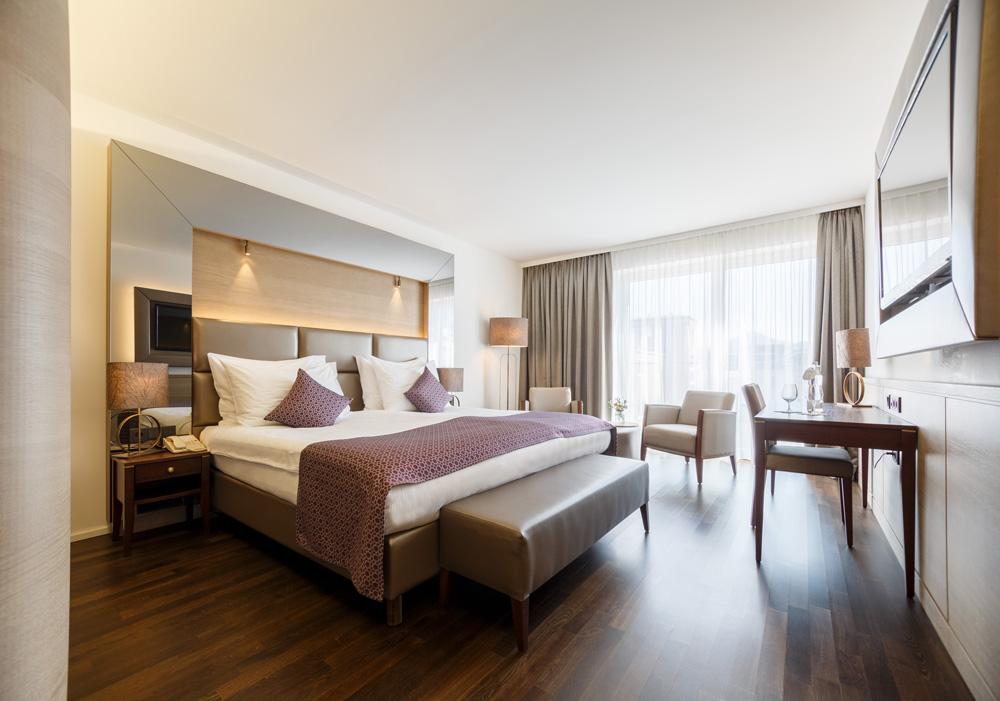 Zimmer mit Gartenblick IMLAUER HOTEL PITTER Salzburg
