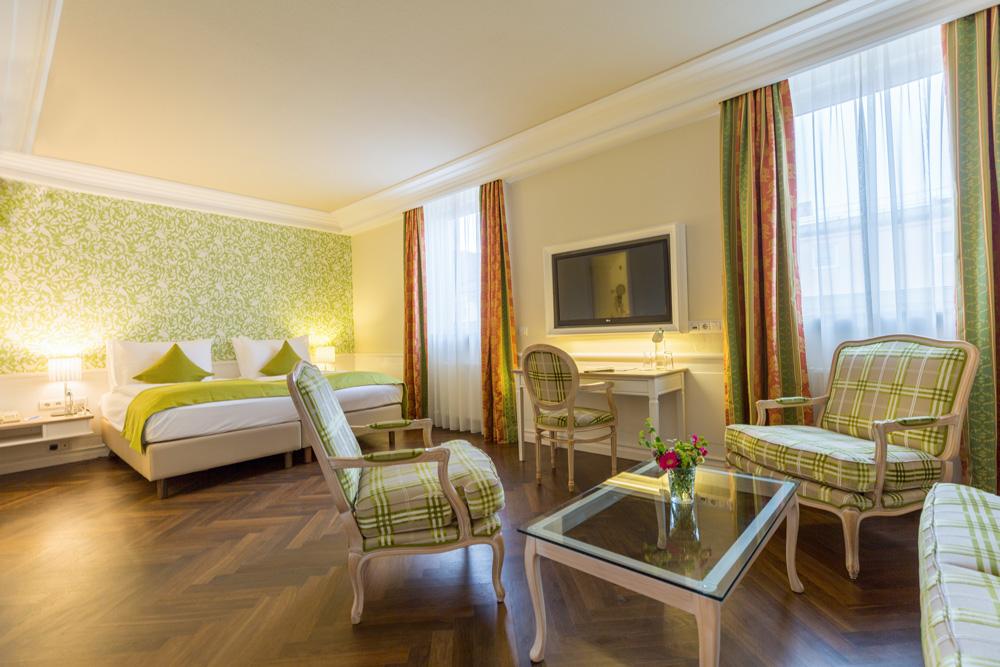 Klassische Einrichtung IMLAUER HOTEL PITTER Salzburg