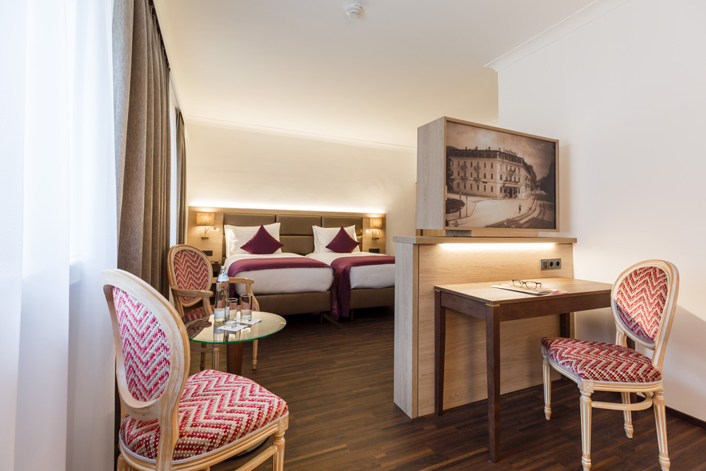 Familien Zimmer IMLAUER HOTEL PITTER Salzburg