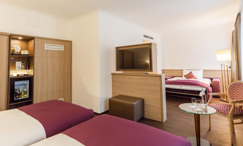 großzügige Einrichtung IMLAUER HOTEL PITTER Salzburg