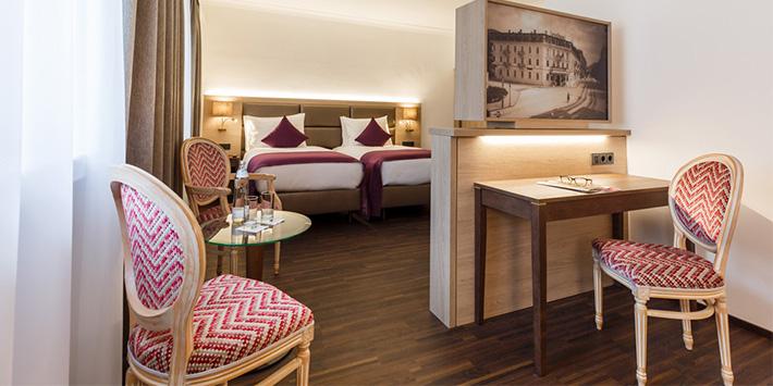 Familienzimmer IMLAUER HOTEL PITTER Salzburg
