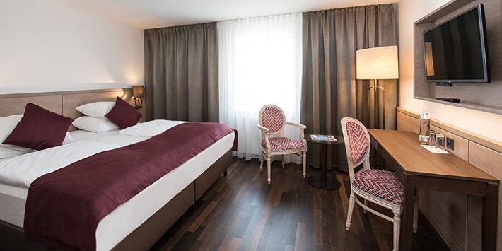 King Size Bed IMLAUER HOTEL PITTER Salzburg