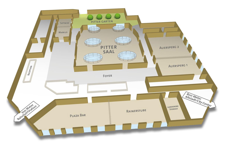 Visualisierung IMLAUER HOTEL PITTER Salzburg